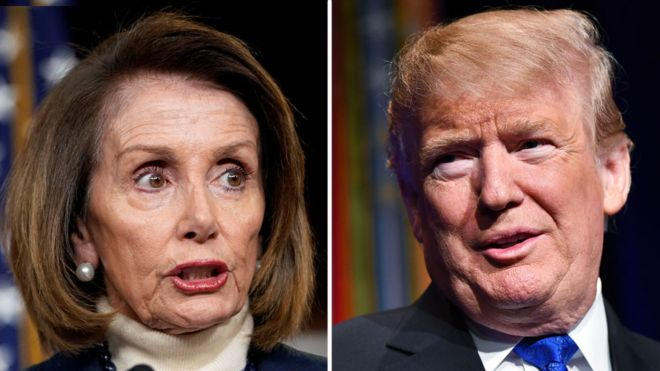Pelosi refuzon kushtet e Presidentit Trump