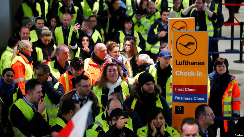 Grevë në aeroportet e Gjermanisë, 220 mijë pasagjerë preken nga situata kaotike