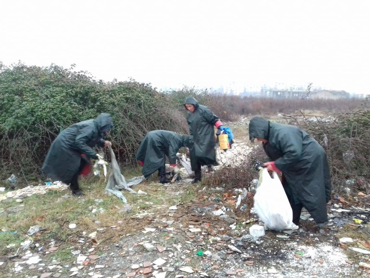 Aksion pastrimi në gjithë njësitë administrative në Tiranë