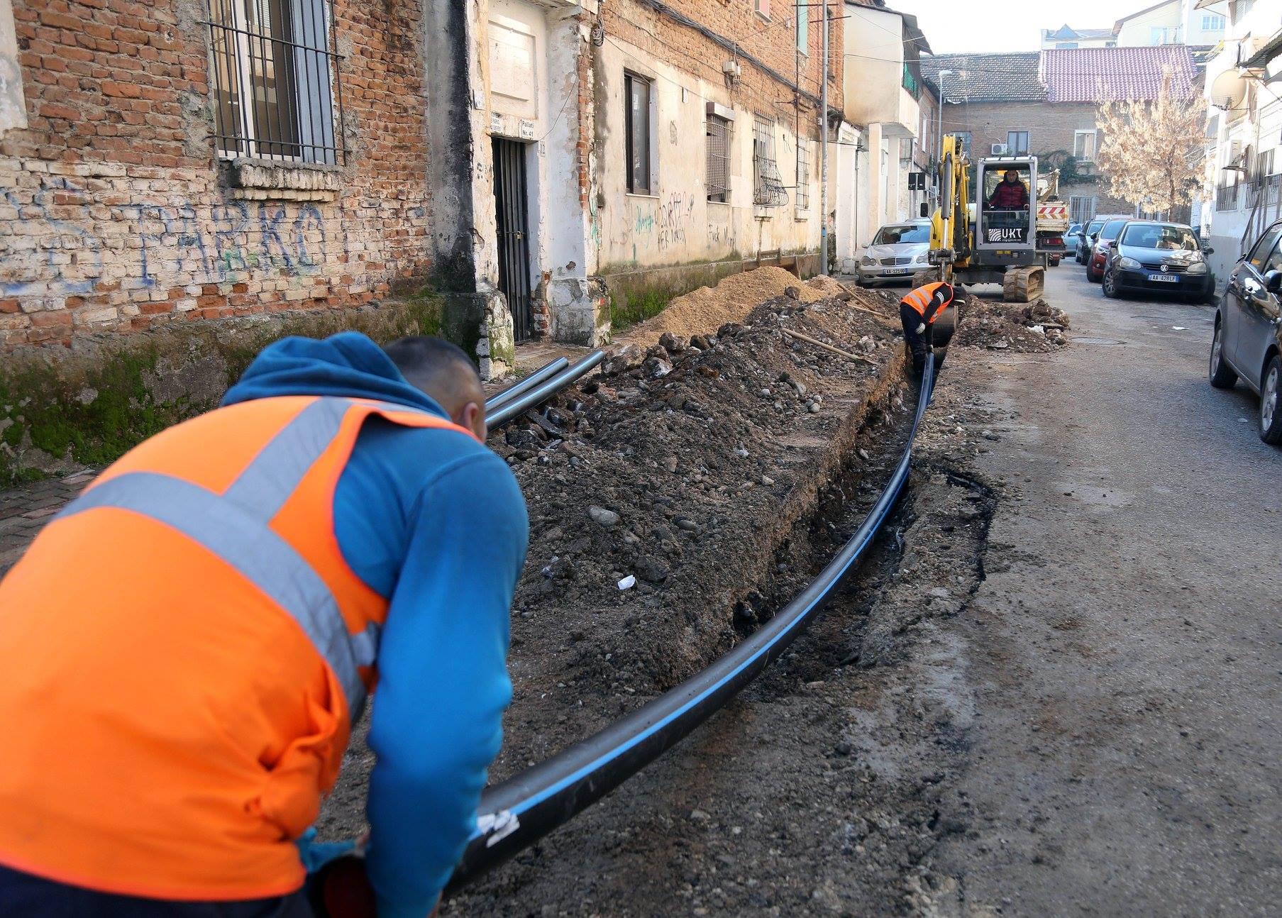 Dy lagje të reja në Njësinë 5 me rrjet të ri ujësjellësi