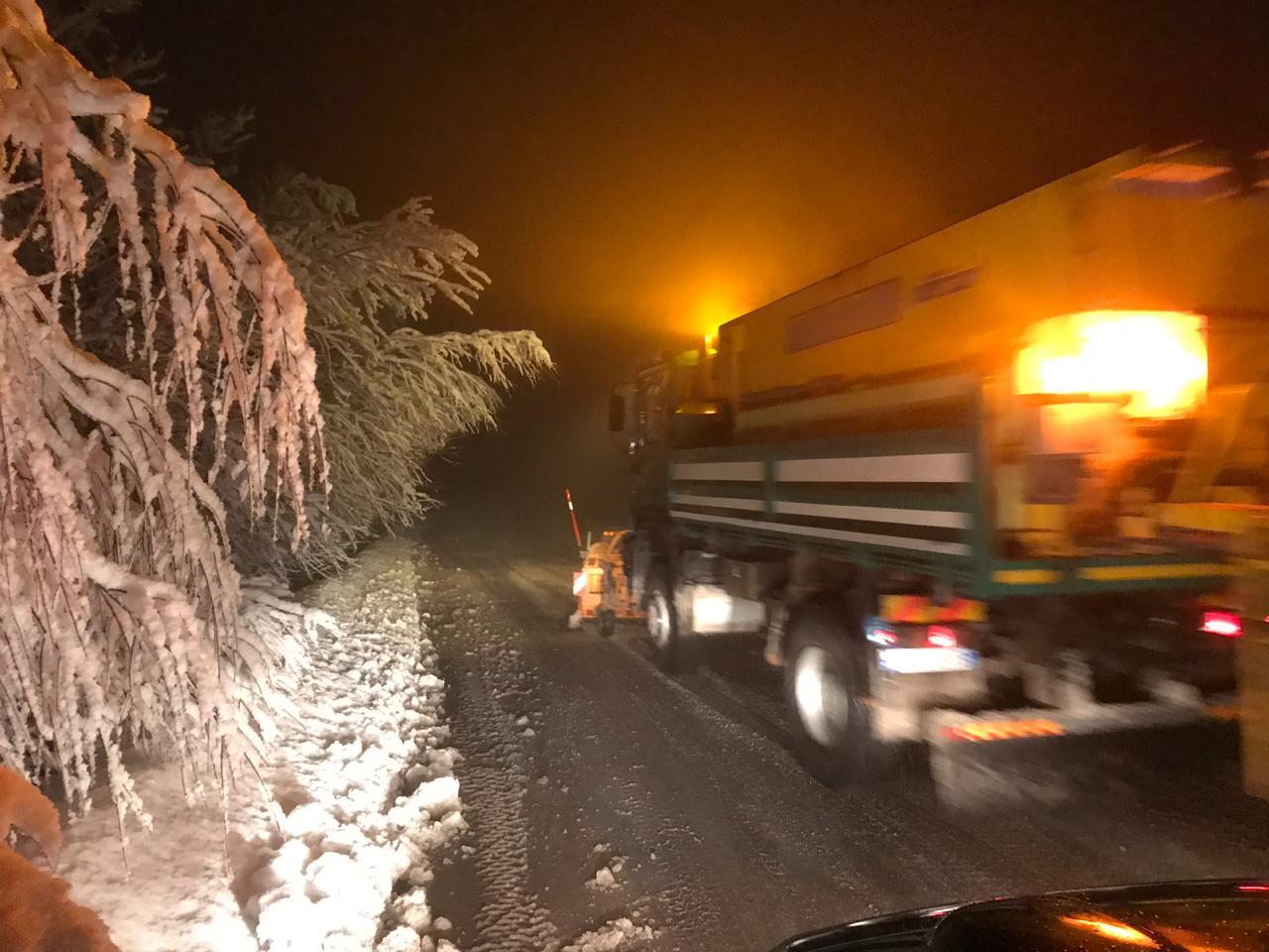 Të gjitha rrugët janë hapur nga bora