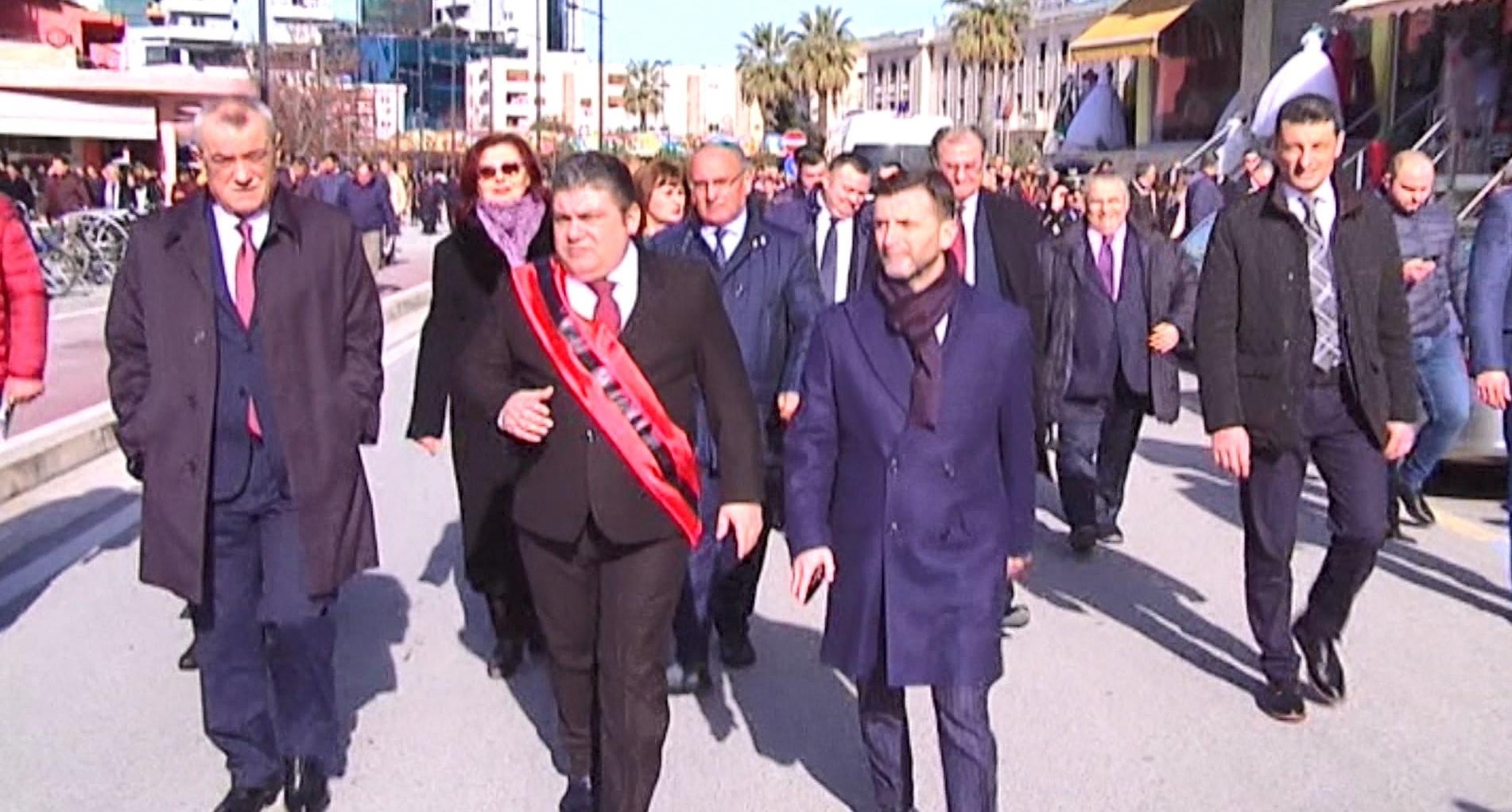 99 vjet nga Kongresi i Lushnjës, Ruçi e Braçe në ceremoni