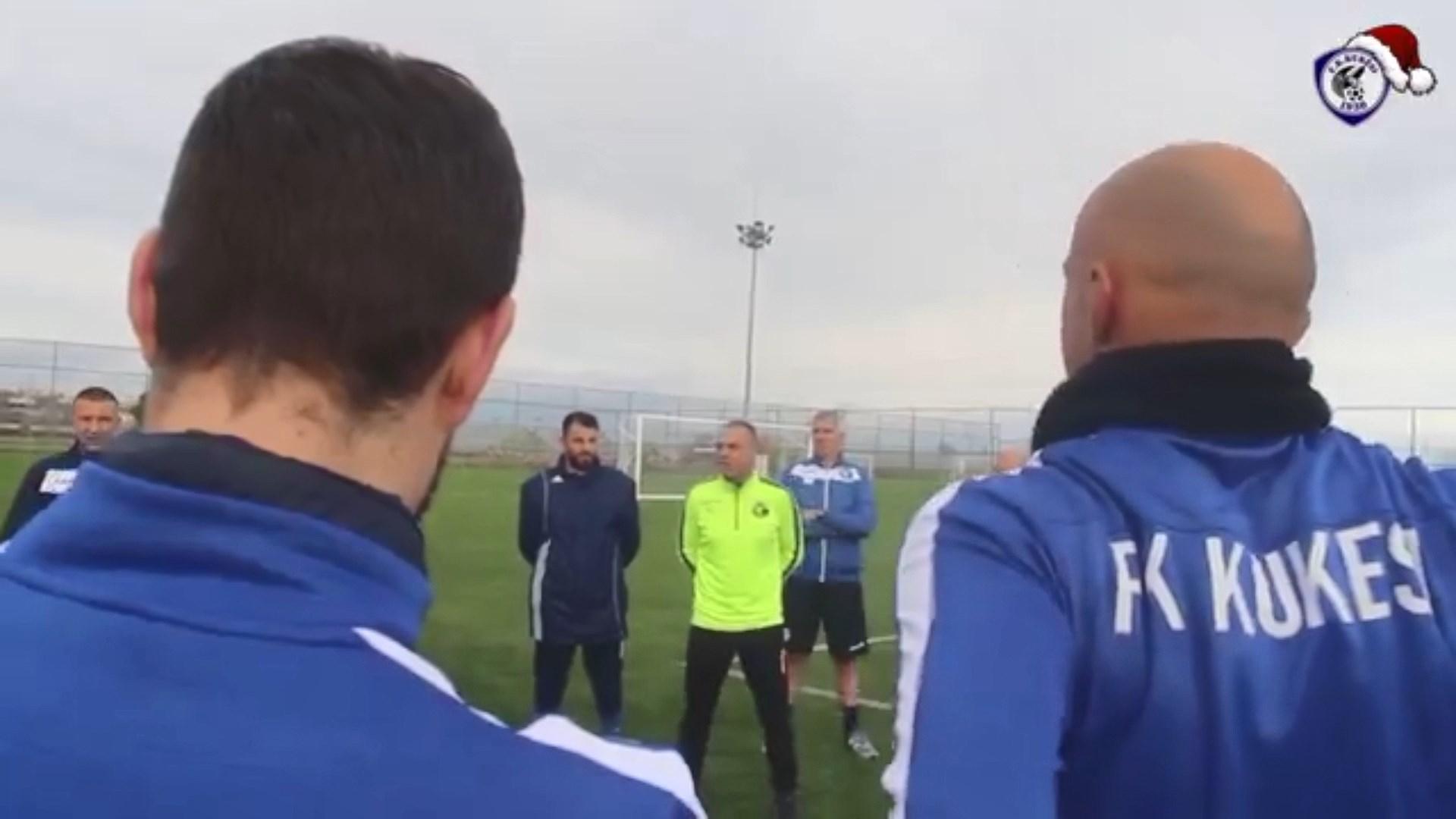 Rezhinaldo paralajmëron trajnerin Cungu, pas ardhjes së Shkurtajt