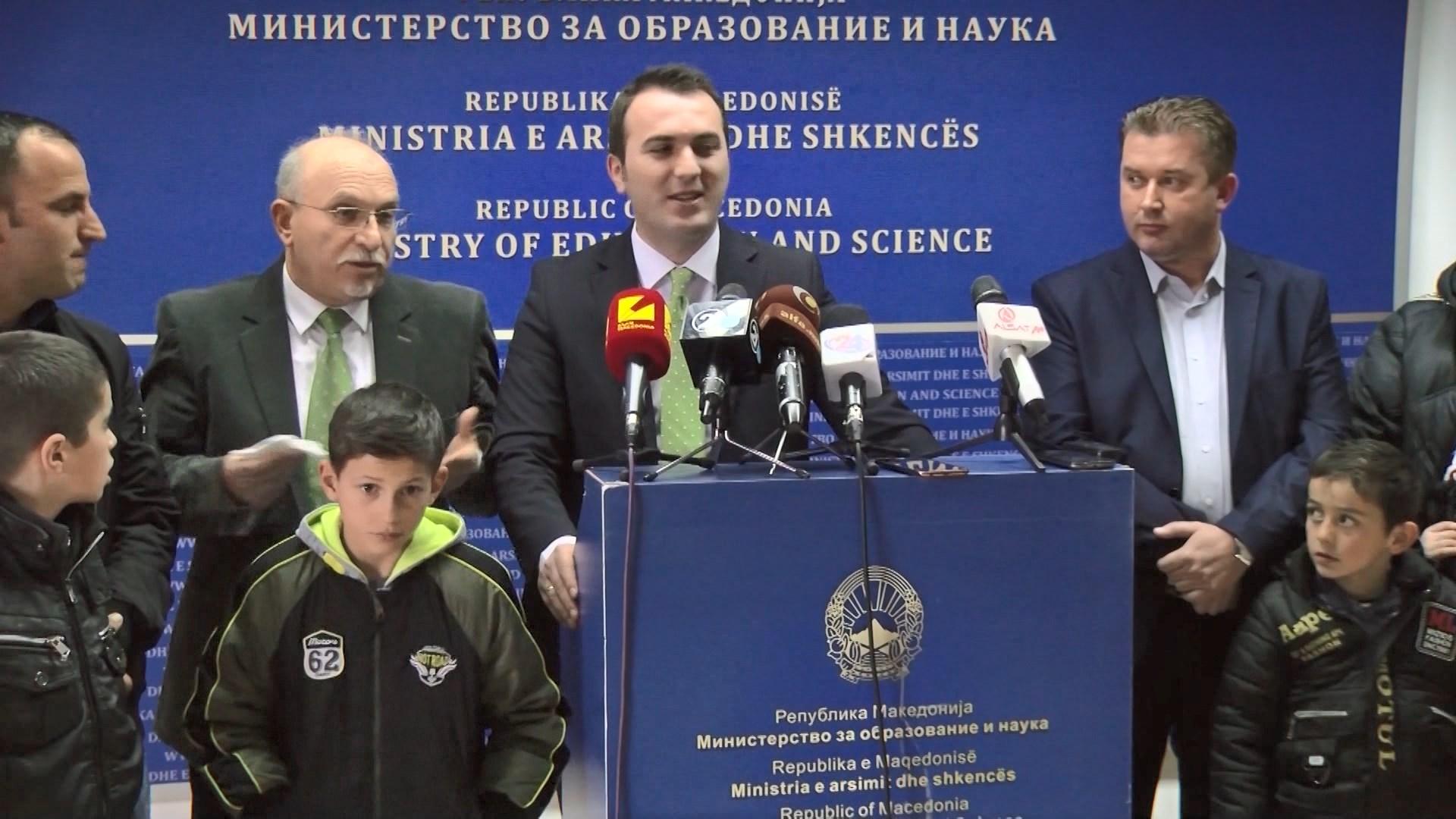 Maqedoni, përdoret për herë të parë gjuha shqipe në mbledhjen e qeverisë