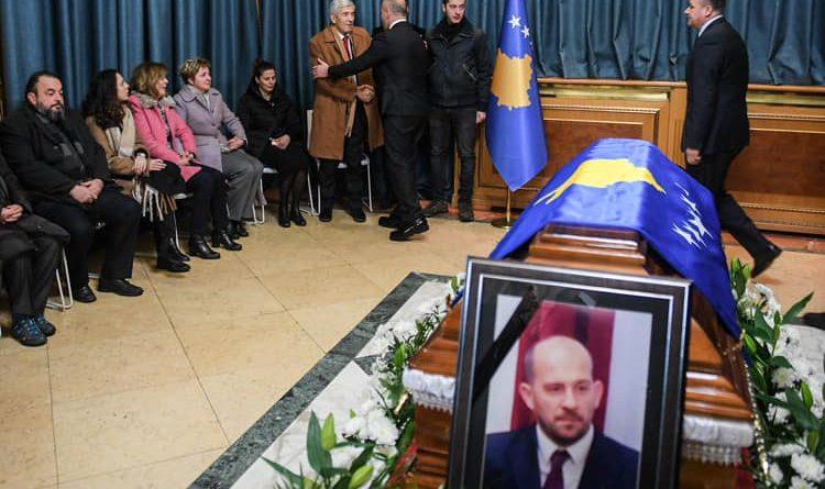 I jepet lamtumira e fundit zëvendësministrit kosovar