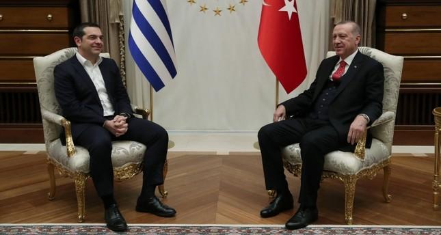 Tsipras në Ankara, dy orë kokë më kokë me Erdgoan