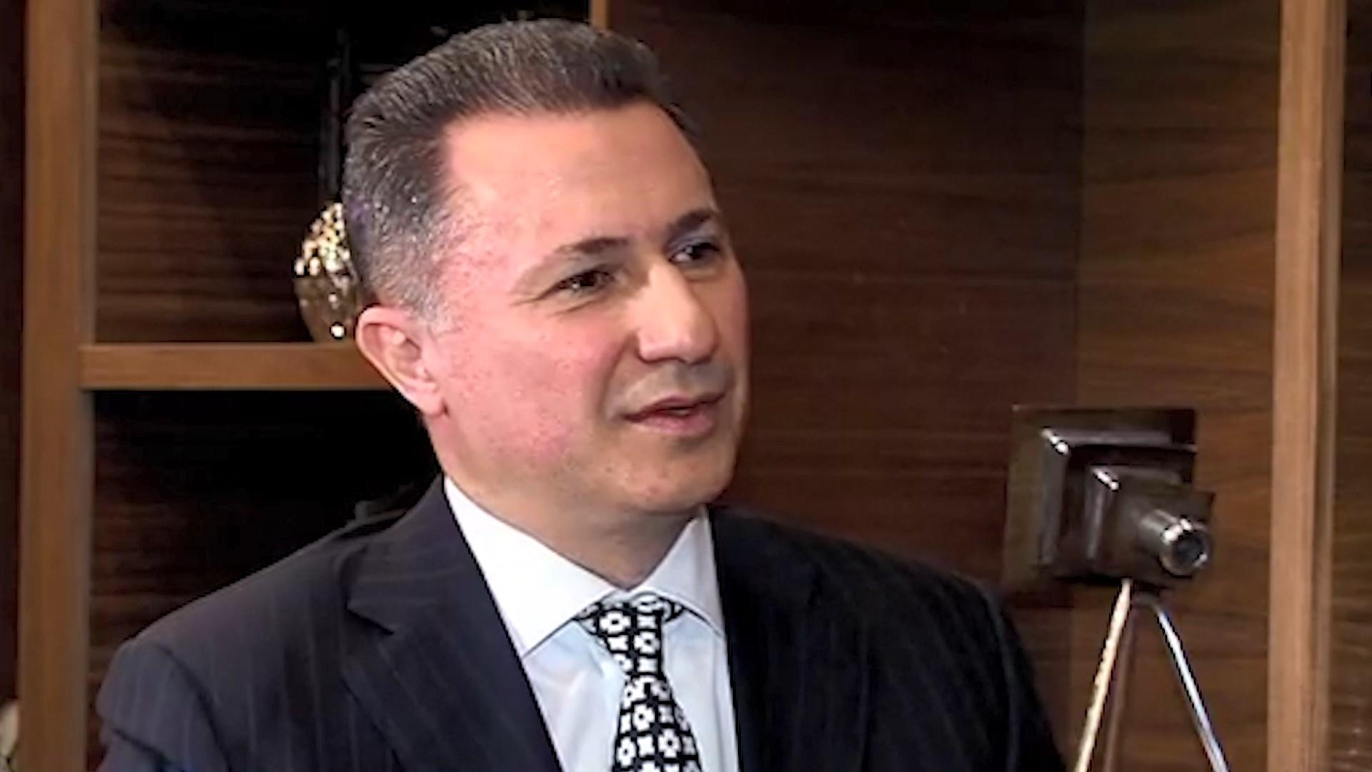 Gruevski: Jam njeri i lirë në Hungari