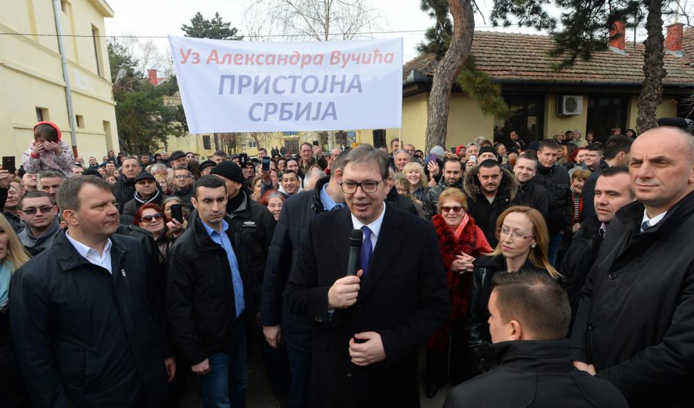 """""""Kosova prapa protestave në Beograd"""", Vuçiç akuzon mediat shqiptare"""