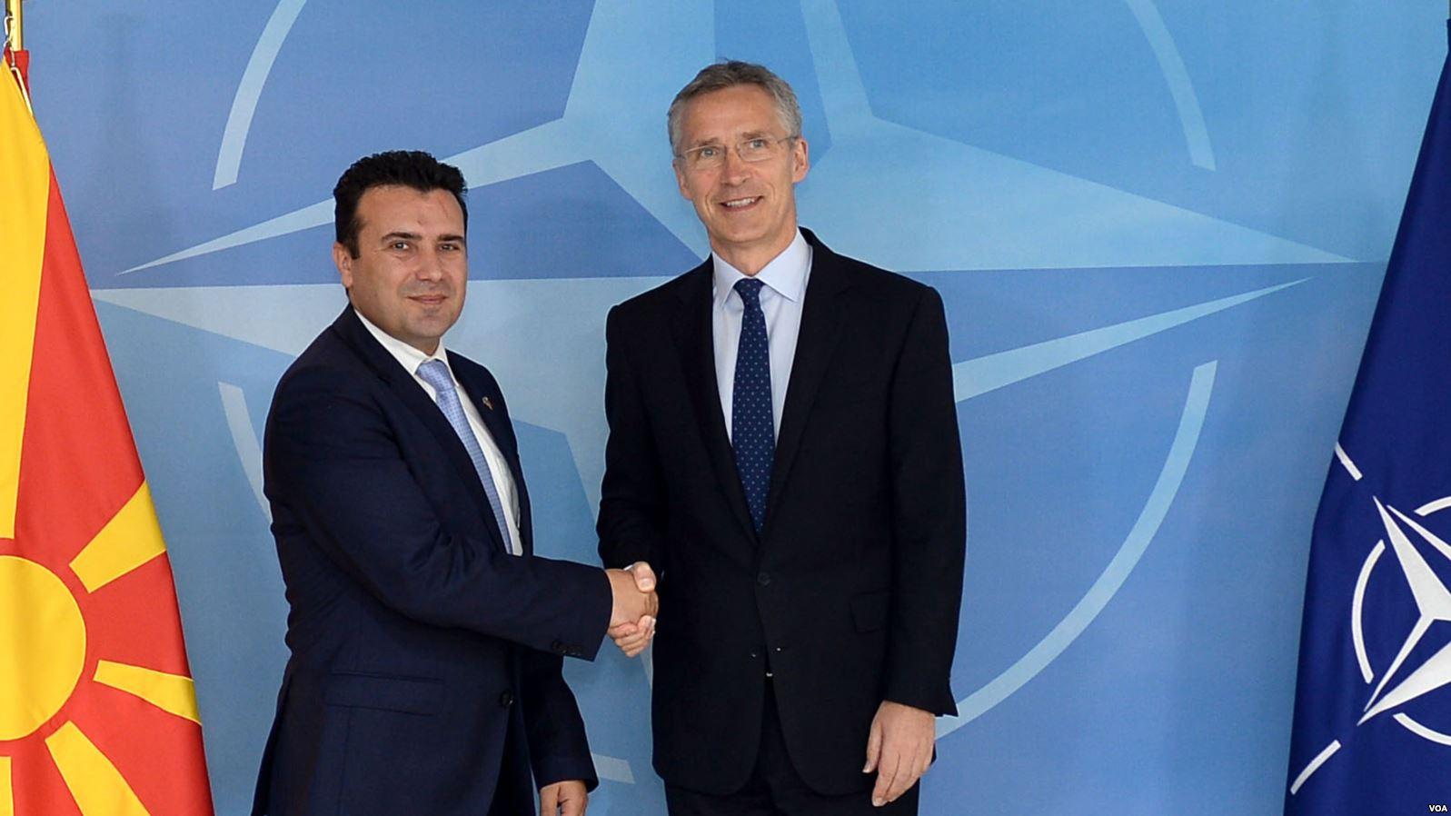 Maqedonia nënshkruan sot Protokollin për anëtarësim në NATO