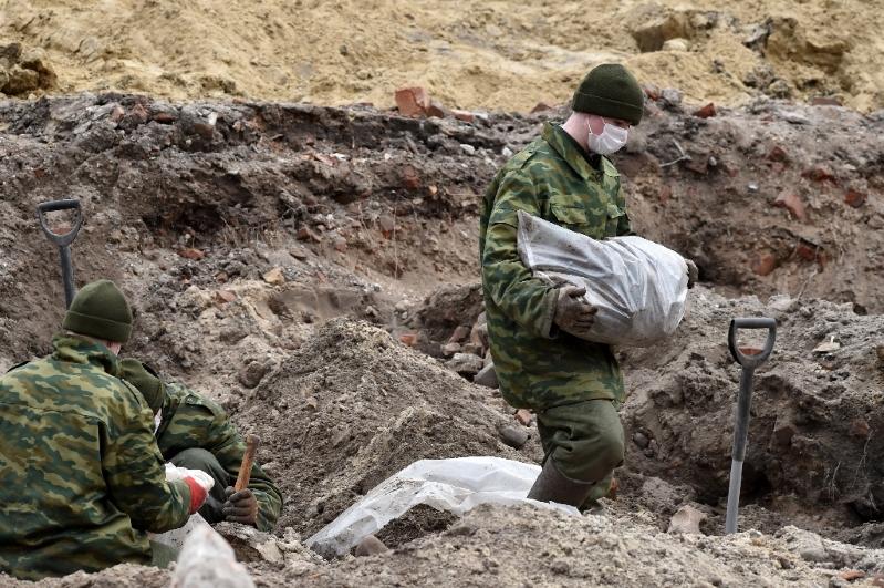 Zbulohet varr masiv në Brest të Bjellorusisë