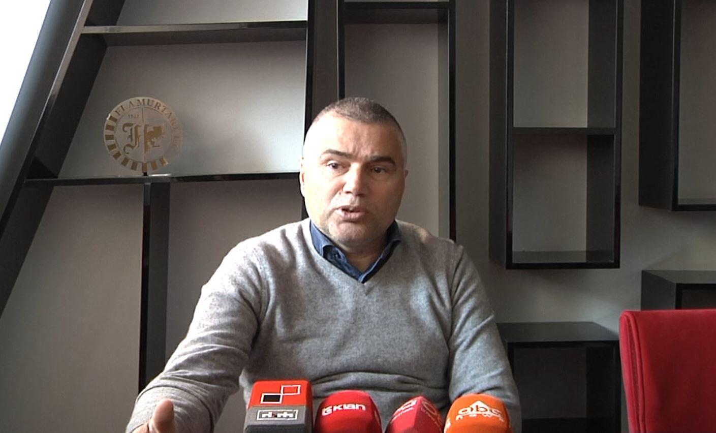 Sinan Idrizi, flet për krizën e financave tek Flamurtari