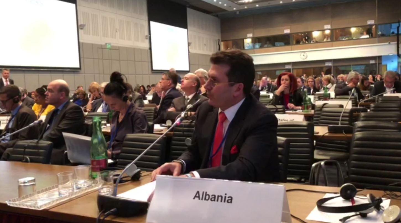 Fatmir Mediu në OSBE: Opozita proteston për zgjedhje të lira