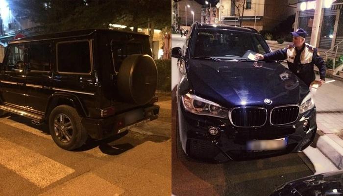 Policia gjobit shoferët me makina luksoze