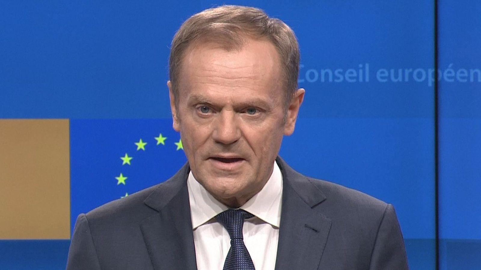 Tusk: Në ferr kush promovon një Brexit pa marrëveshje!