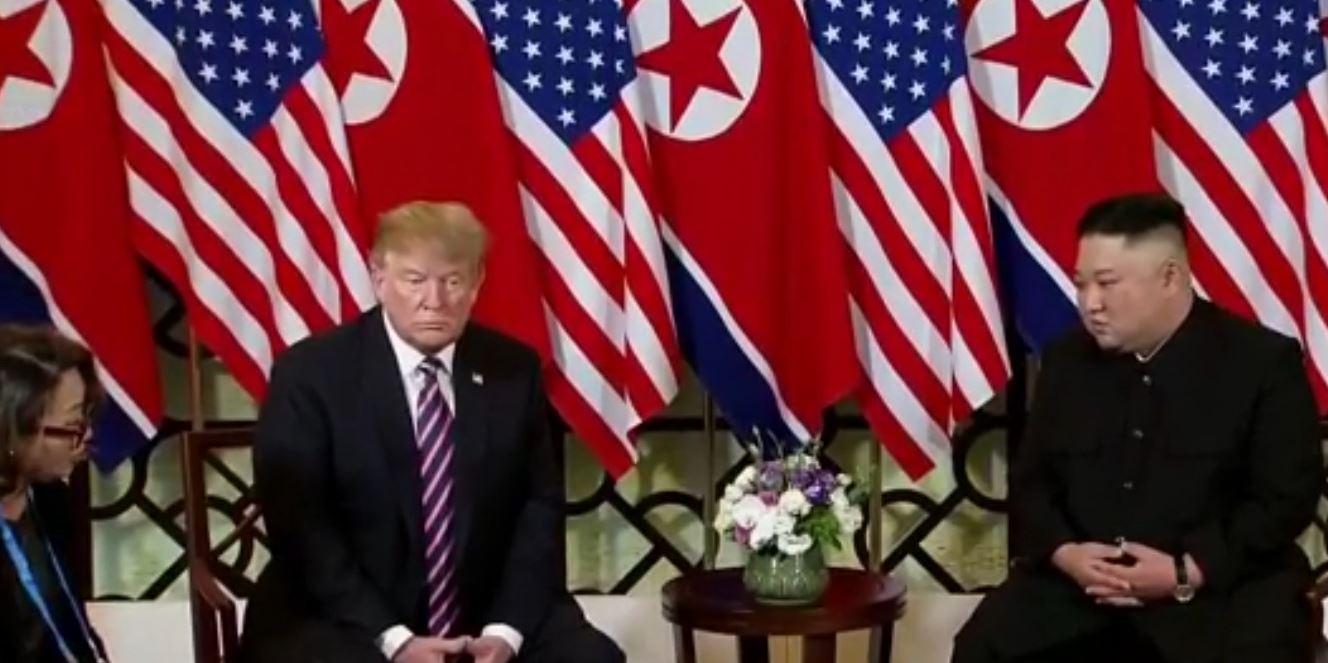 Takohen Donald Trump dhe Kim Jong Un