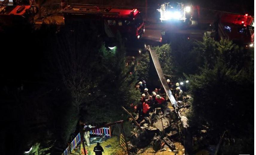 Turqi, rrëzohet helikopteri në Stamboll