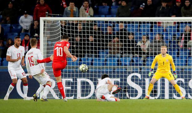 Zvicrës nuk i mjafton goli i Granit Xhakës për fitore në Evropian