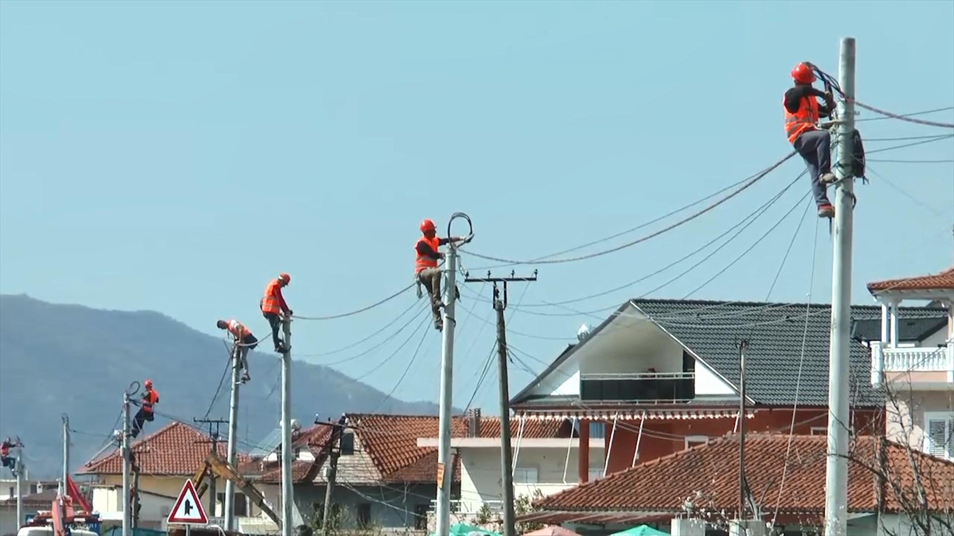 OSHE investon në rrjetin e tensionit të ulët Elbasan – Cërrik