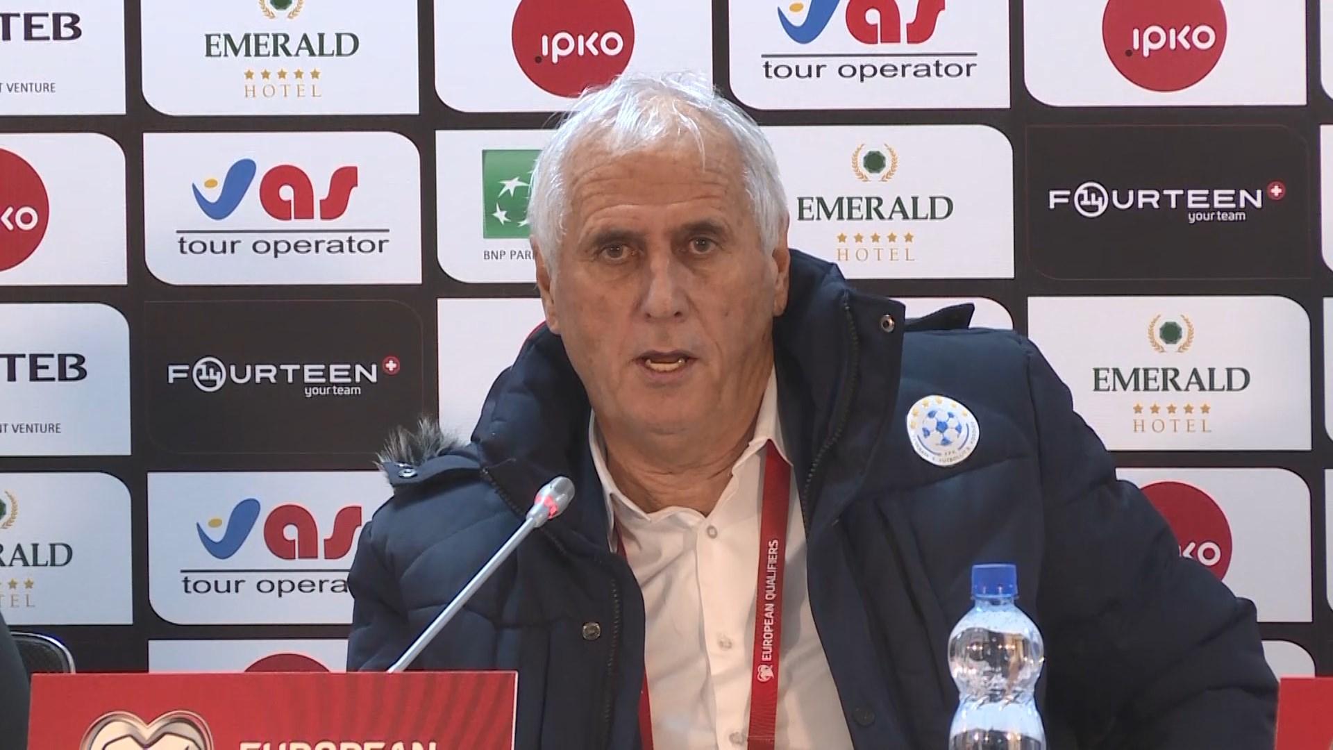 Trajneri i Kosovës Shaland i kënaqur nga loja, por jo nga rezultati