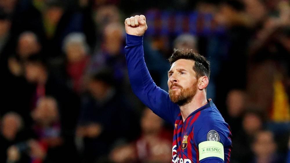 Messi i përgjigjet Ronaldos