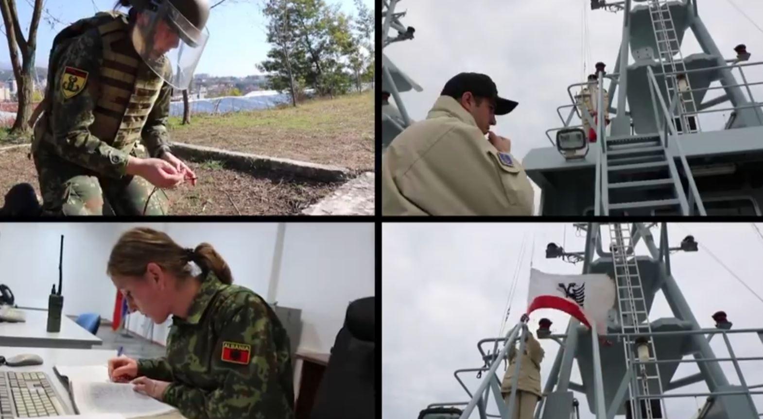Ushtaraket e suksesshme përcjellin mesazhe për ditën e gruas