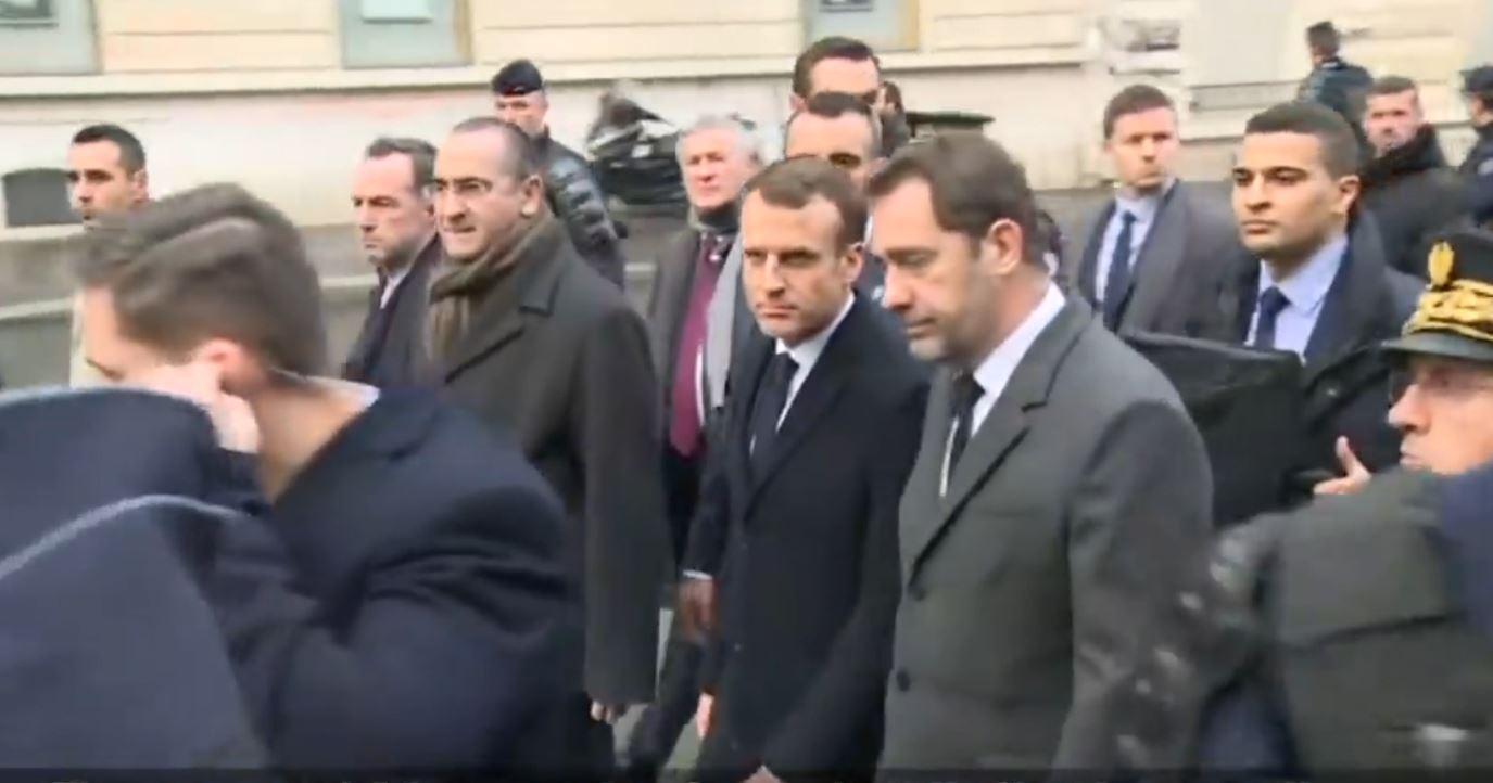 """Macron nën """"sulme verbale"""", pas kritikës ndaj të plagosurës në protestë"""