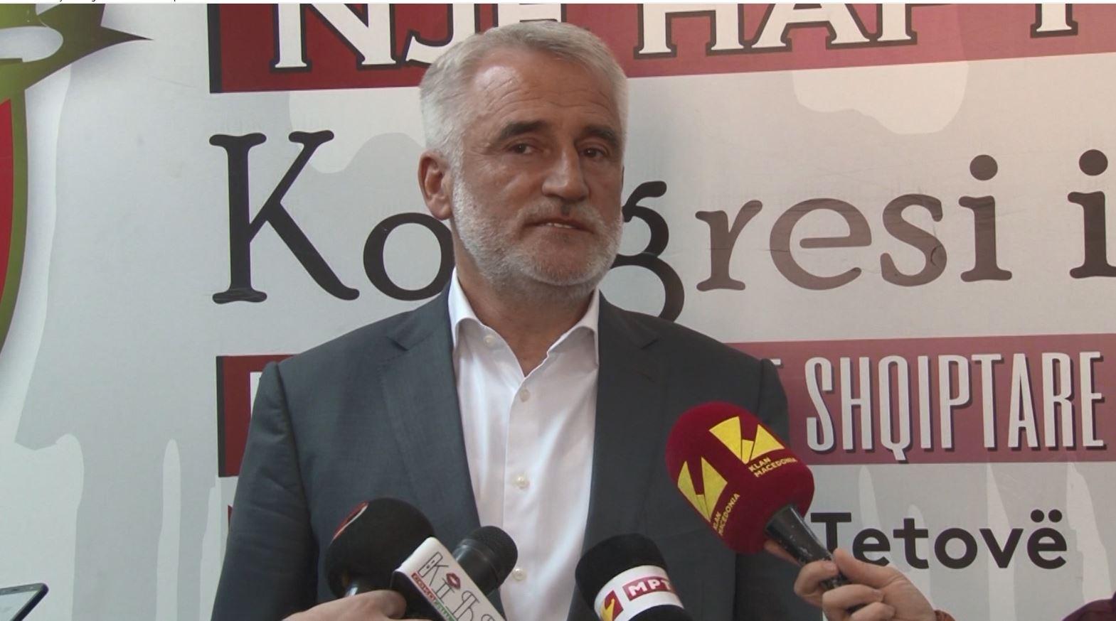 Menduh Thaçi përkrah Pendarovskin në zgjedhjet e Maqedonisë