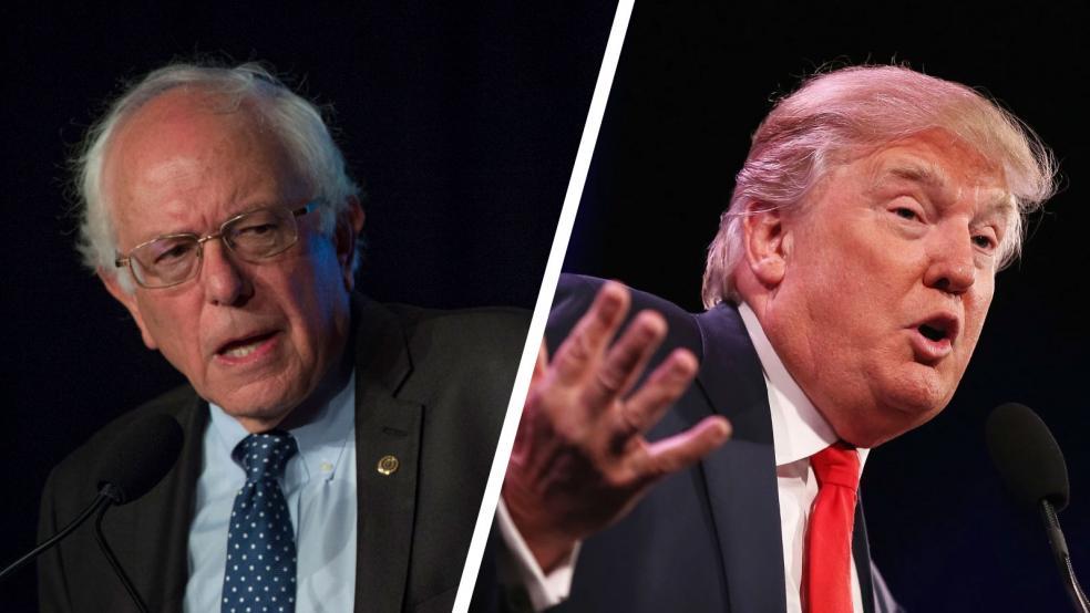 Trump Vs Sanders, Senatori demokrat sfidon Presidentin