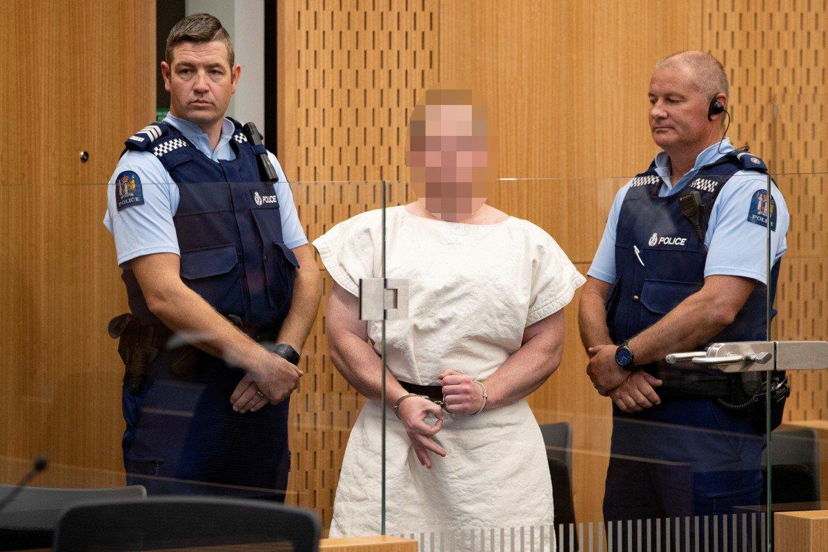Masakra në Zelandën e Re, autori del para gjykatës