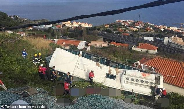 Përmbyset autobusi me turistë në Portugali