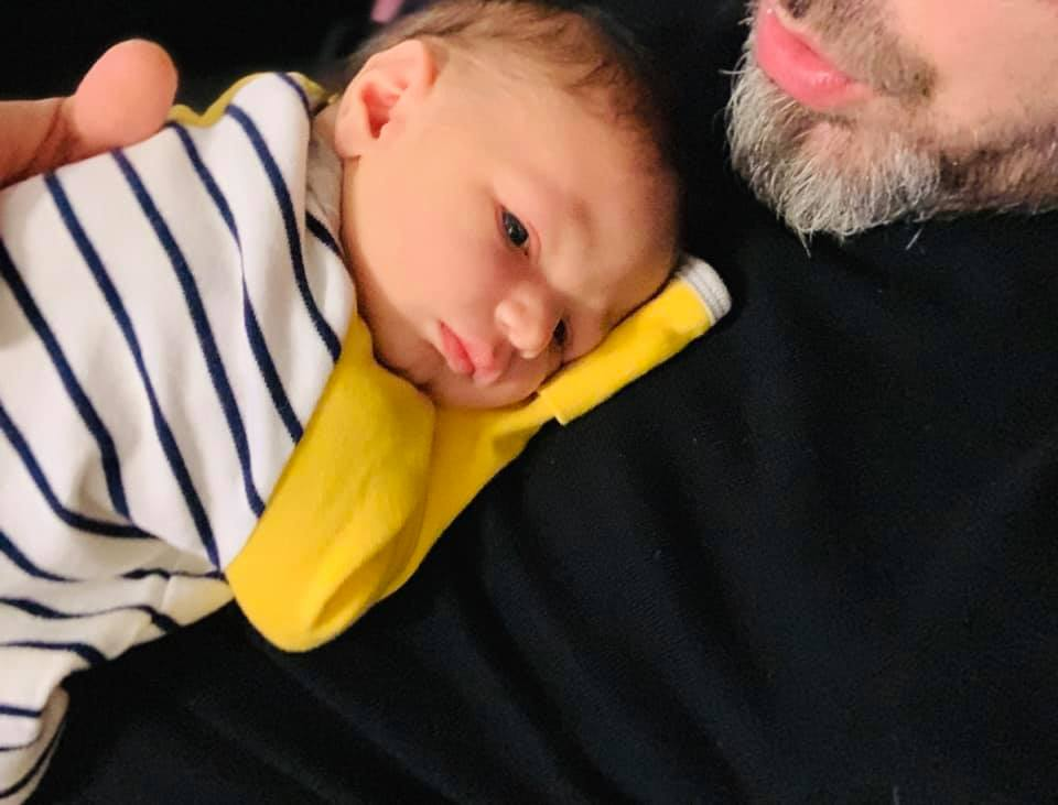Saimir Tahiri bëhet baba për herë të dytë