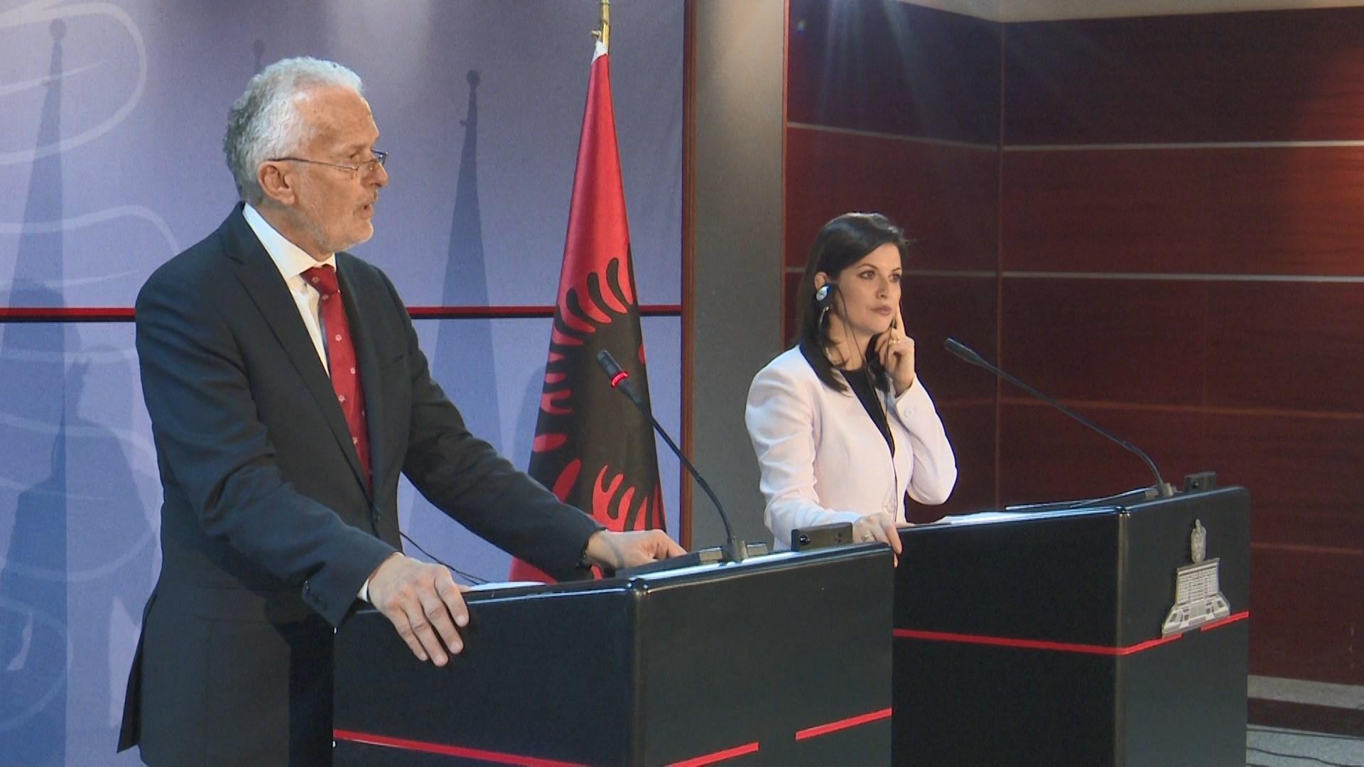 Reforma në drejtësi, krimi e korrupsioni, Gjonaj takon ministrin austriak
