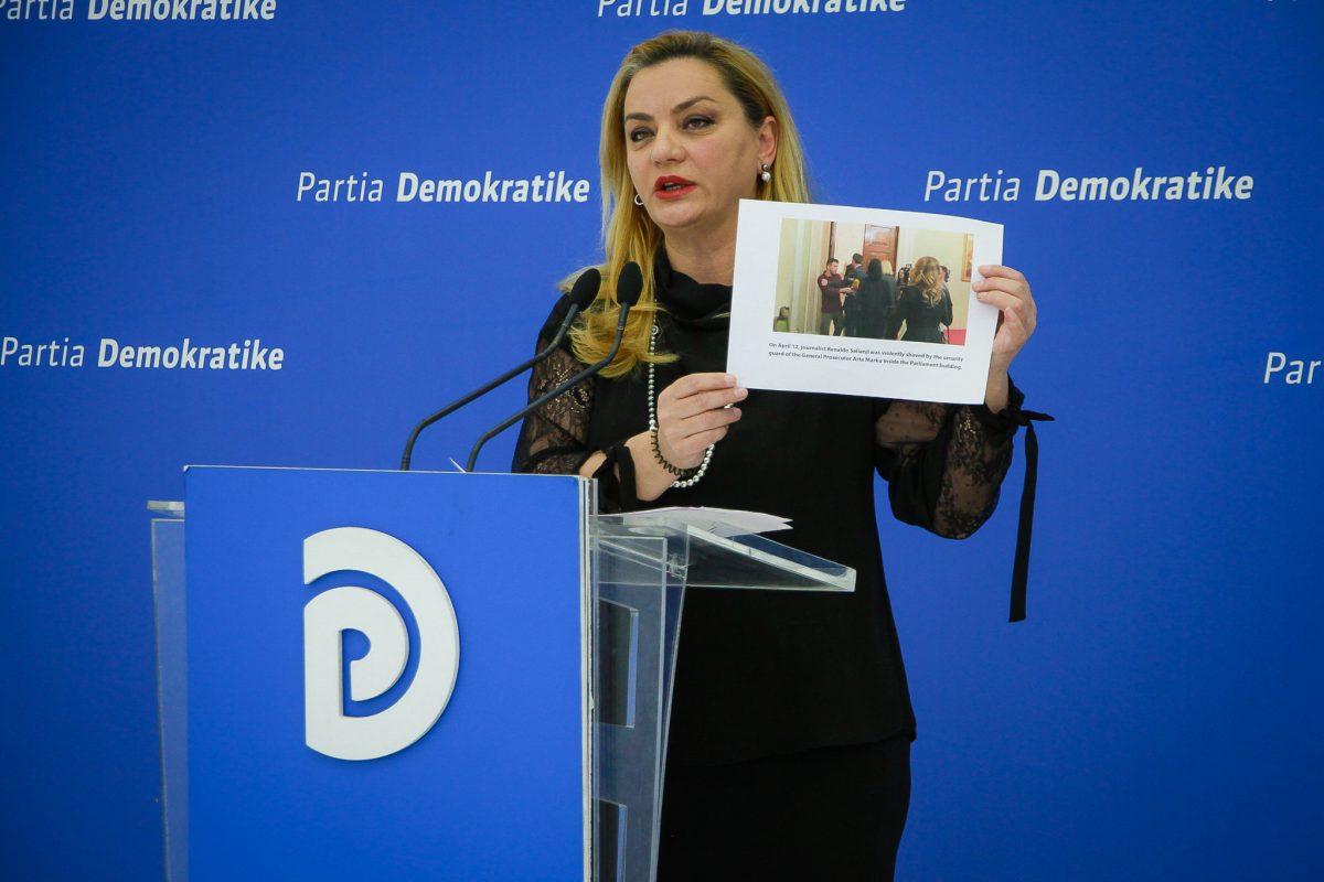 Vokshi: PD denoncon dhunën ndaj gazetarëve