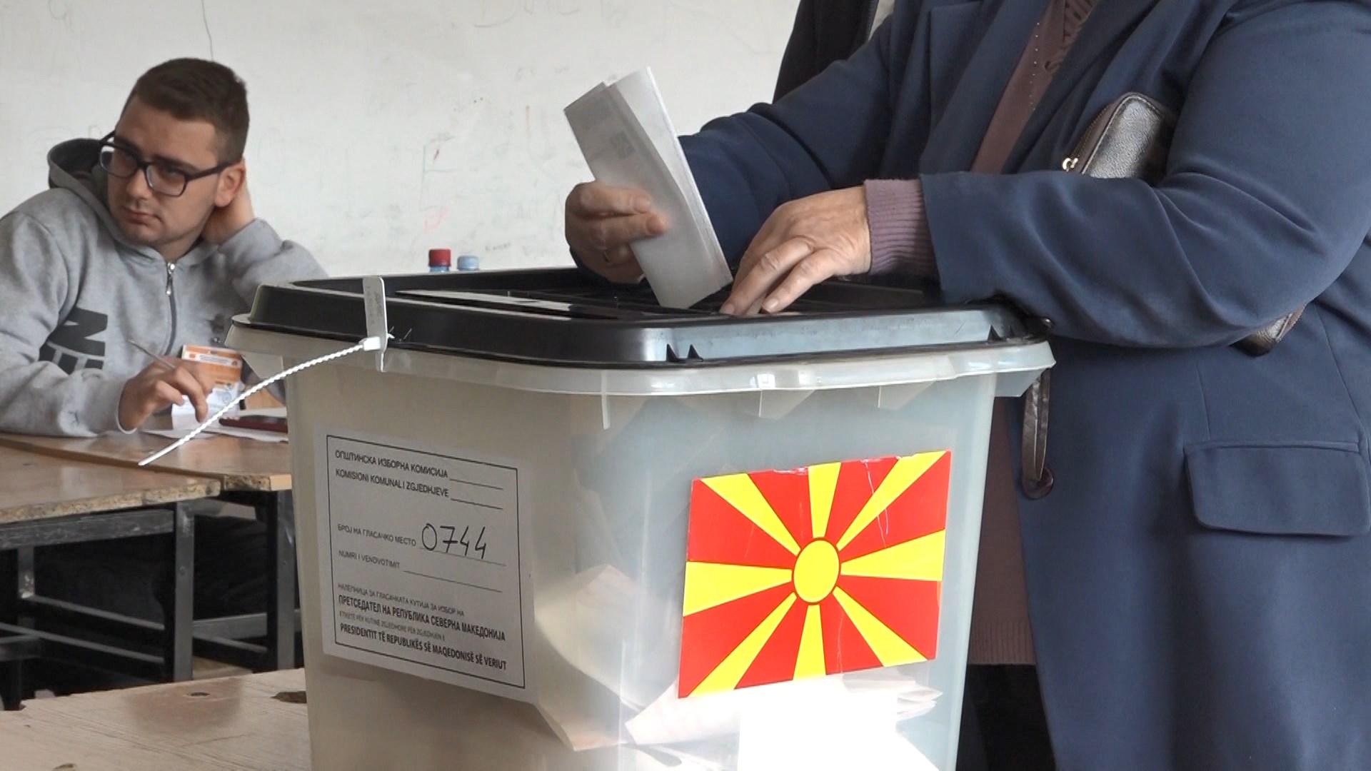 Presidencialet në Maqedoninë e Veriut, të dhënat e para për pjesëmarrjen