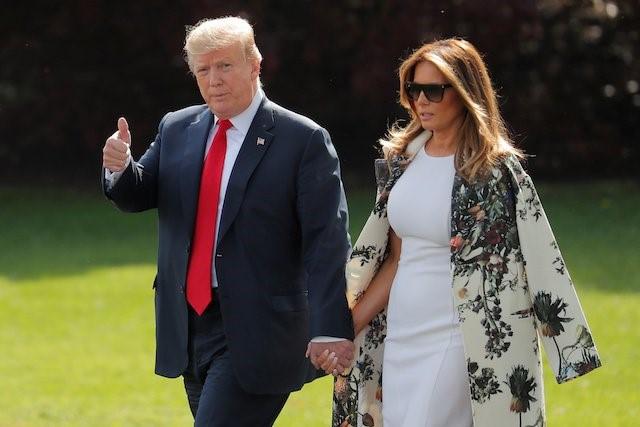Trump dhe Melani, vizitë zyrtare në Japoni në 25 prill