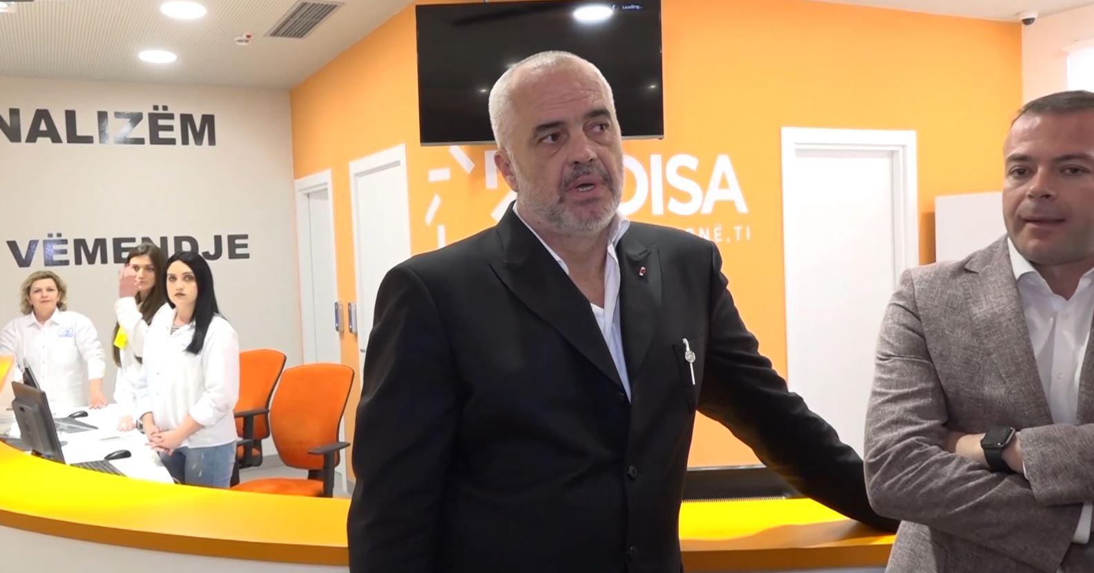 Rama inspekton zyrën e 'ADISA' në Shkodër
