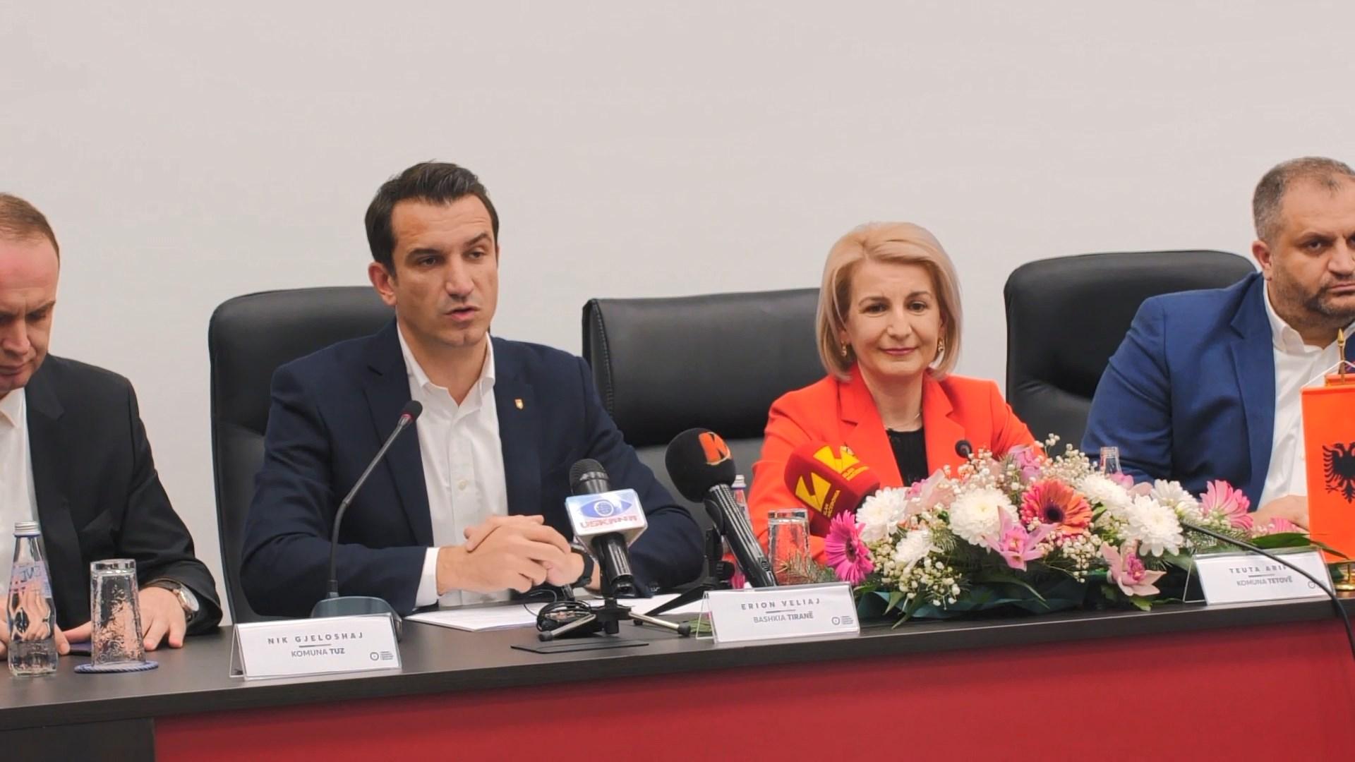 Veliaj merr pjesë në takimin e III të Unionit të Bashkive Shqiptare