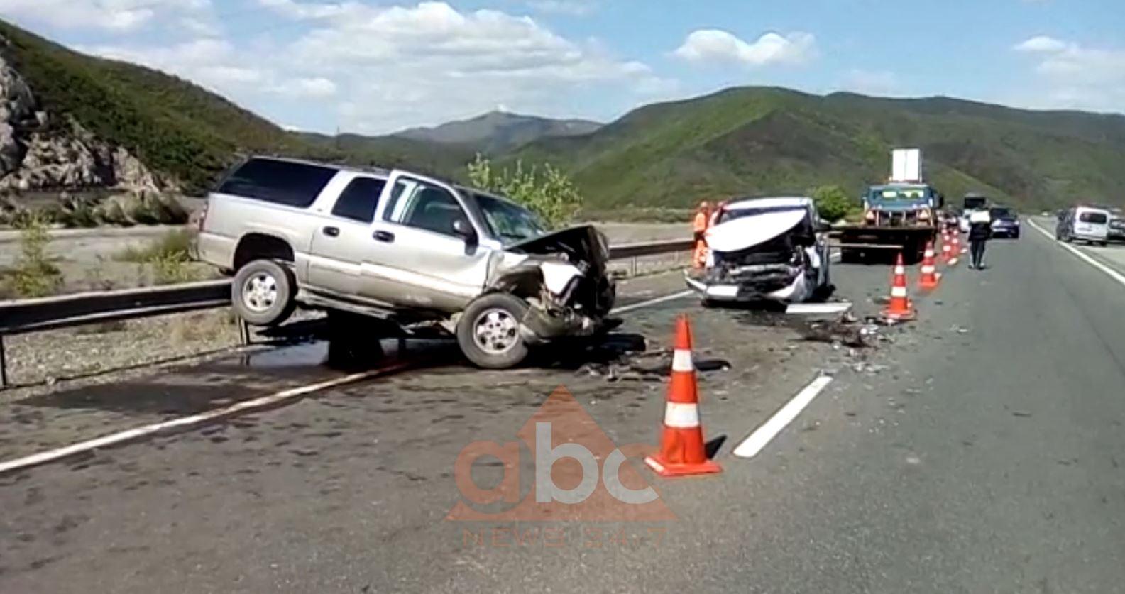 Nga dy aksidente, një i vdekur dhe 5 të plagosur