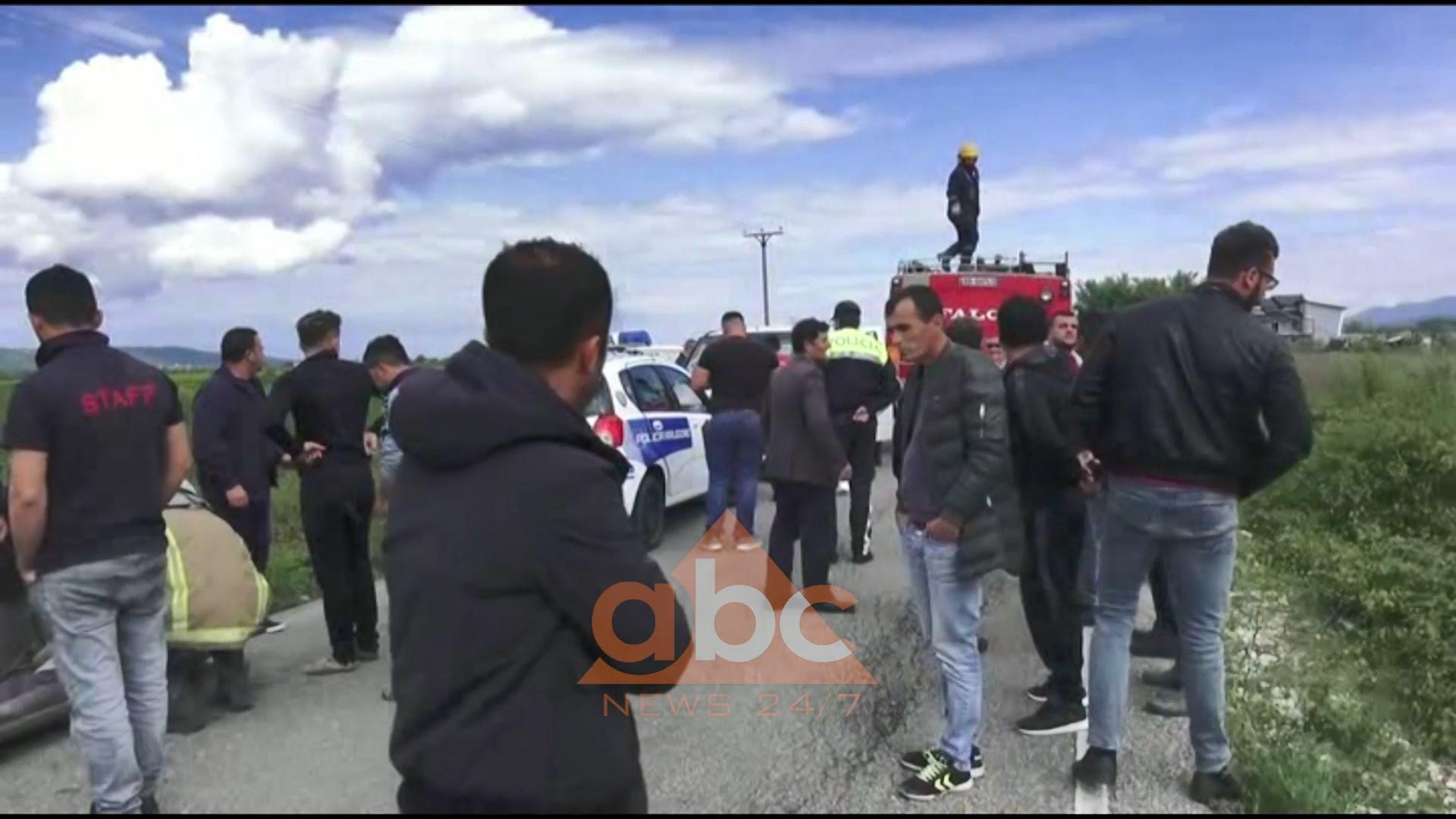 Aksidente në Fushë Krujë dhe Këlcyrë, plagosen 5 persona (video)