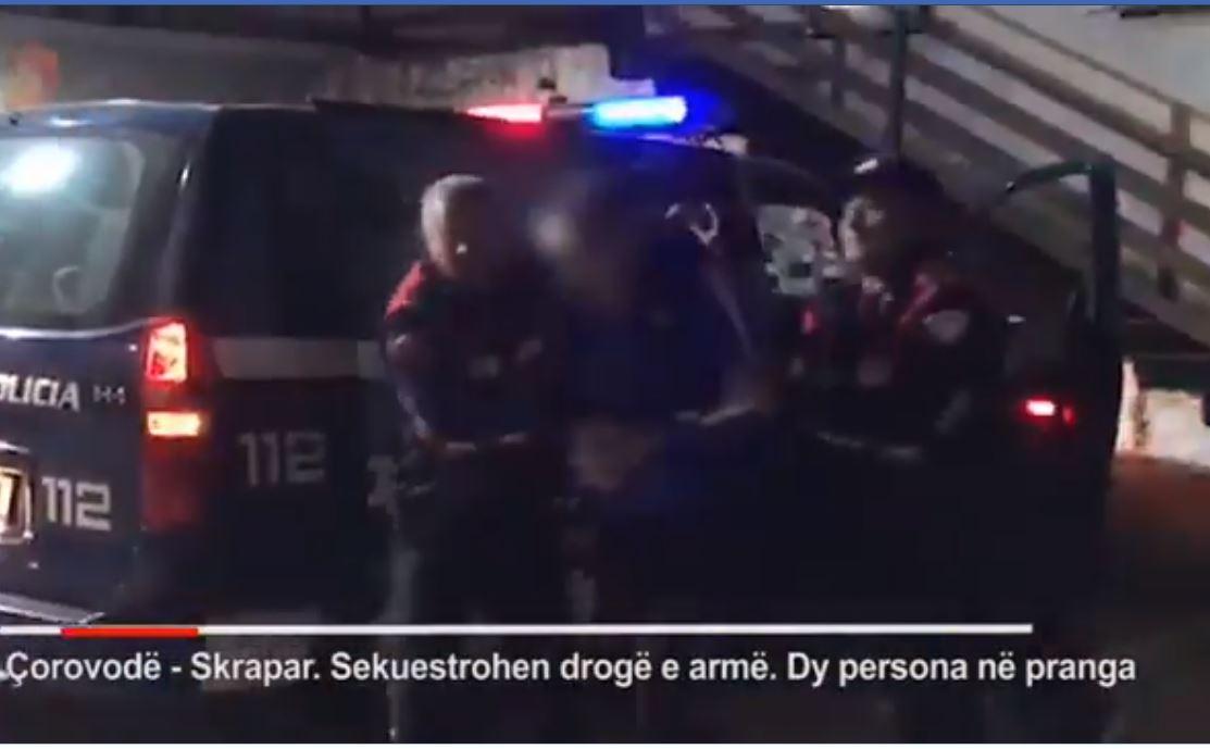 Armë dhe drogë në Çorovodë, ndalohen dy persona