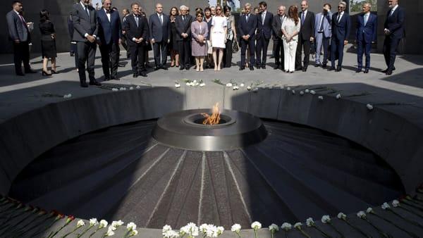 Genocidi armen, Turqia përplaset me Italinë