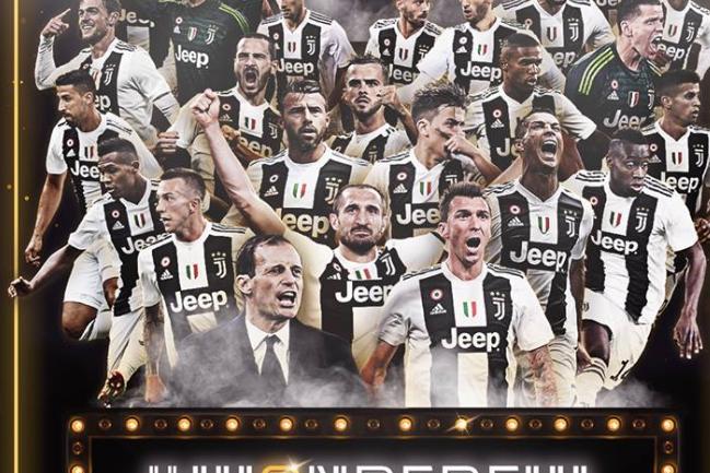 Juventus shpallet kampion në Itali për sezonin 2018-2019