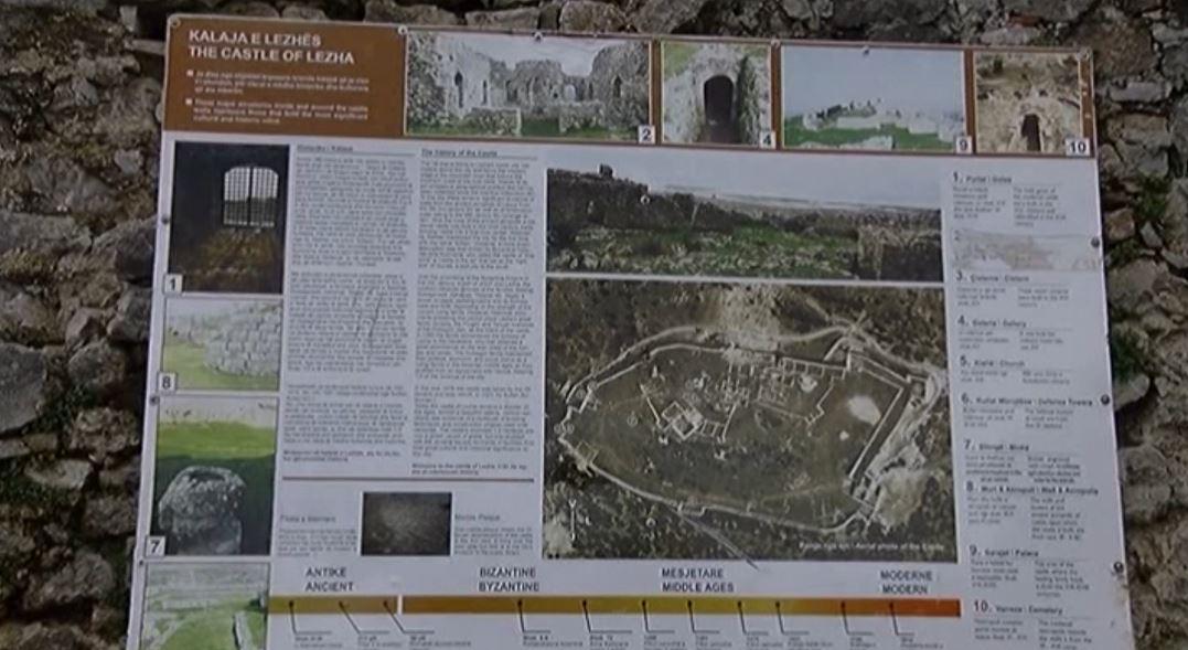 Kalaja e Lezhës, reduktohen vizitorët