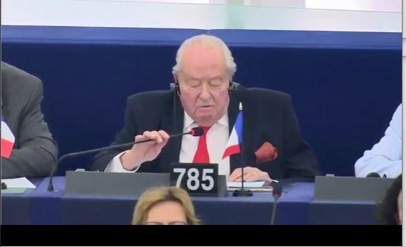 Lamtumira e Le Pen në PE: Do na mallkojnë