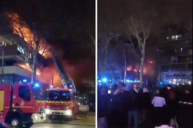Shpërthim në një pallat në Paris