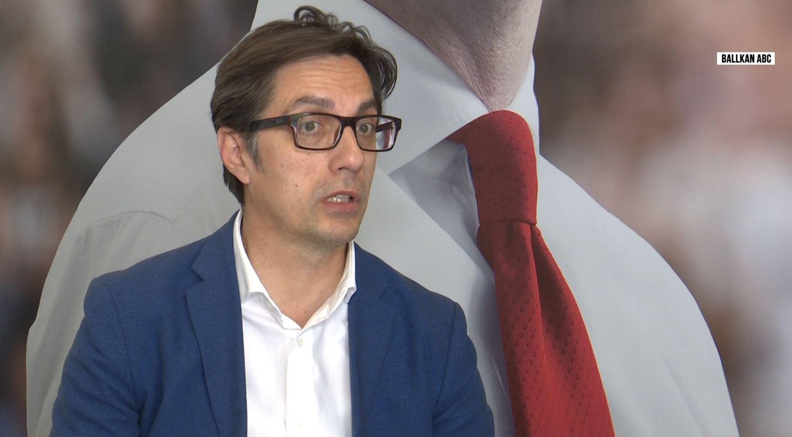"""Pendarovski: Për çështjen """"Zhvatja"""" duhet durim dhe mos të pranojmë ndërhyrje"""