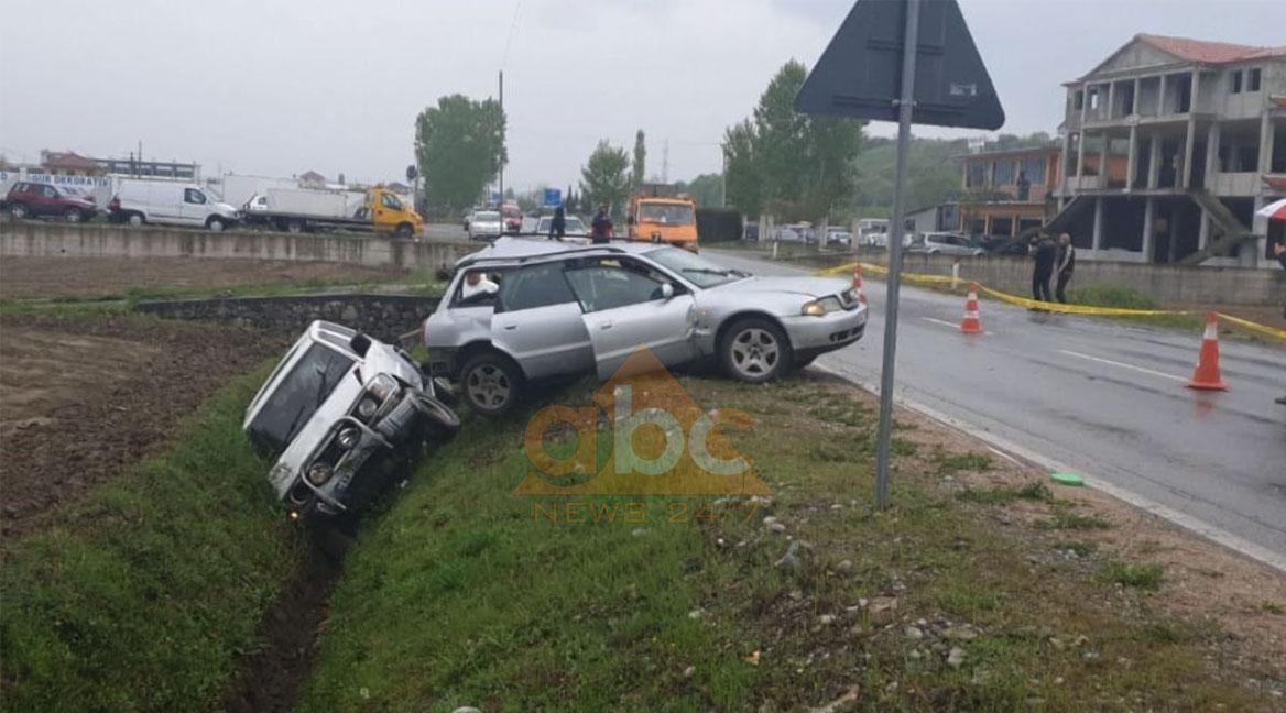 Aksident në Shkodër,2 të vdekur dhe 5 të plagosur