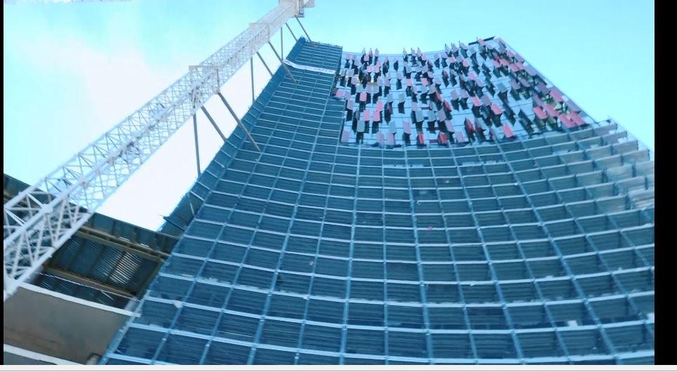 Ministrja e Kulturës inspekton punimet në stadiumin e ri kombëtar