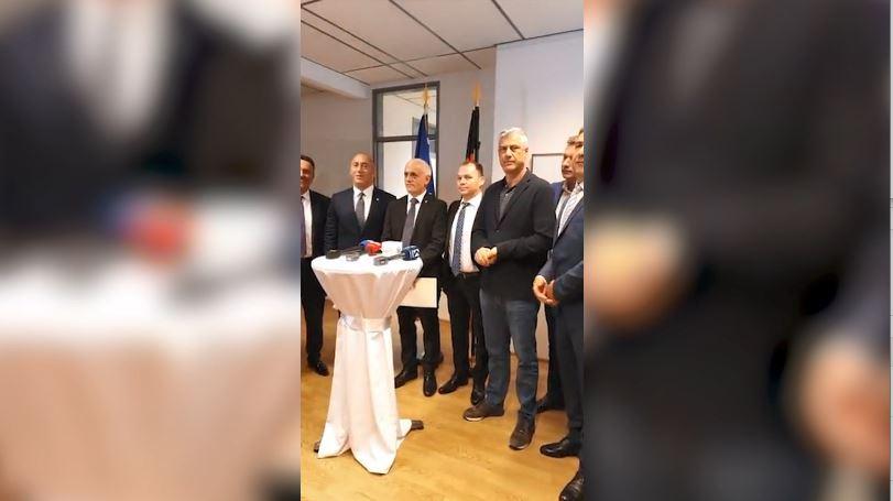 Mediat kosovare: Rama, Thaçi dhe Haradinaj në Berlin me avionin personal të Pacollit