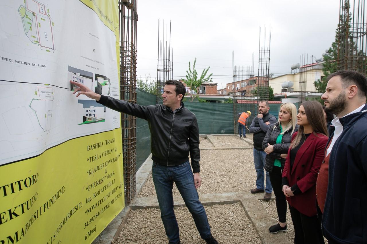 Bashkia e Tiranës nis ndërtimin e kopshtit të ri nr. 58 në Kodër-Kamëz
